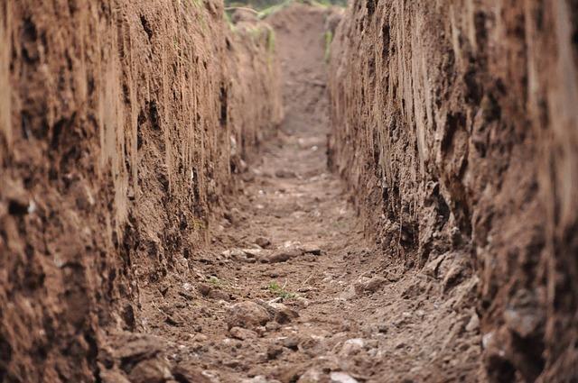Rocklin Septic System Ditch